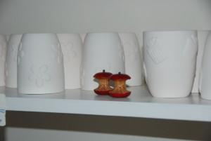 Keramikwerke entstanden im Atelier AusZeit Bad Nenndorf bei Hannover