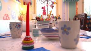 Geburtstag feiern - Entstanden im Atelier AusZeit Bad Nenndorf bei Hannover