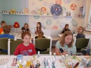 Kindergeburtstag feiern Atelier AusZeit Bad Nenndorf bei Wunstorf Hannover