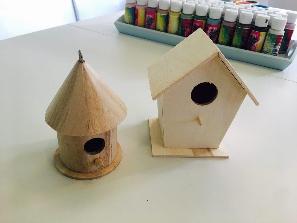Workshop Angebot für Schulkinder Osterferien 2018 - Vogelhäuschen